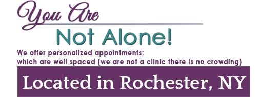 Rochester NY Womens clinic slogan